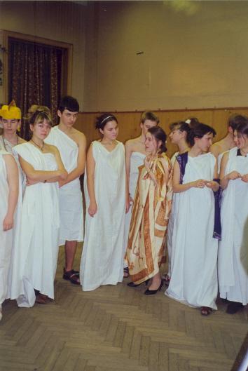 """2000 год """"Юлий Цезарь"""" отрывки из пьесы У. Шекспира, 10 класс на английском языке"""