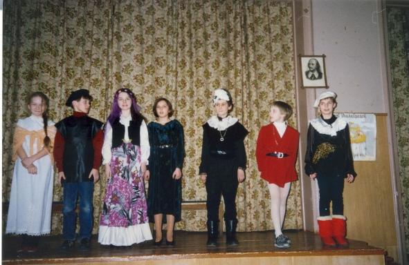 1998 год отрывки из комедий Шекспира на английском языке